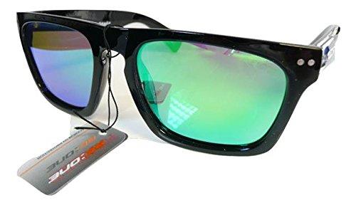 tint lunettes polarisées étui de Homme Black à Green soleil qC847F1wH