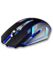 6d Wired Gaming Mouse with Led Light