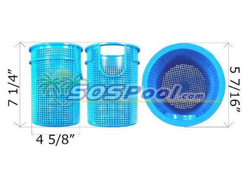 Sta-Rite Plastic Suction Trap Assembly Replacement Parts Strainer Basket 169200017