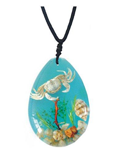 Seashells Underwater Plant Background Necklace product image