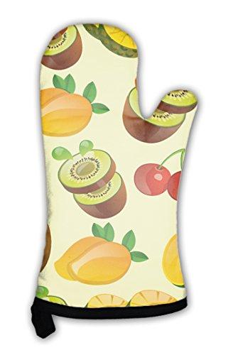 Gear New Oven Mitt, Fruit Pattern, GN7396 (Cherry Fresh Oven Mitt)