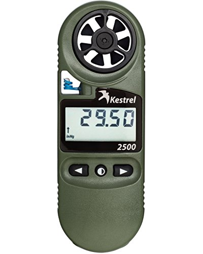Kestrel 2500NV Pocket Weather Meter - Temp Speed Sensor