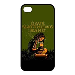 the Case Shop- Customizable Dave Matthews Band iPhone 4 and iPhone 4S TPU Rubber Hard Back Case Cover Skin , i4xq-350