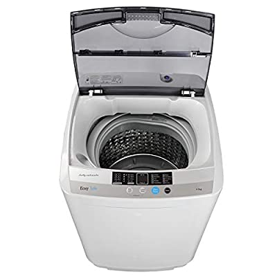 JupiterForce PortableFull-Automatic1.6 Cu. ft. Washing Machine and Dryer 2in1 Laundry Washer&Spinner