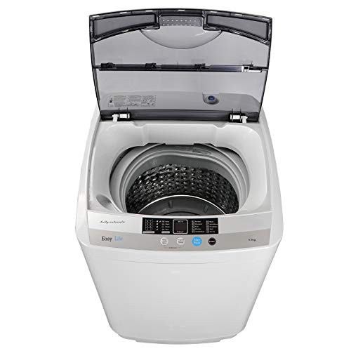 JupiterForce Portable Full-Automatic 1.6 Cu. ft. Washing Machine and Dryer 2in1 Laundry Washer&Spinner