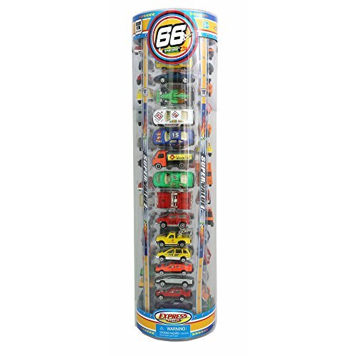 Express Wheels Action Pack 66 Cars (Express Wheels)