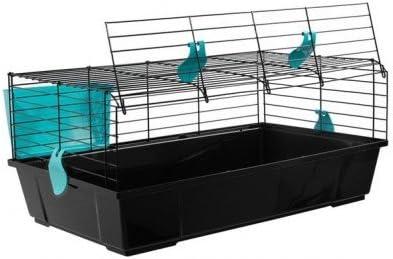 Voltrega Jaula conejo 526 negra plegable: Amazon.es: Productos ...