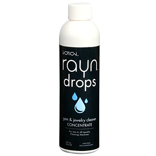 Concentrated Cleaning Solution (Votion Rayn Drop Ultrasonic Liquid Jewelry Cleaning Solution Concentrate (1 Pack))