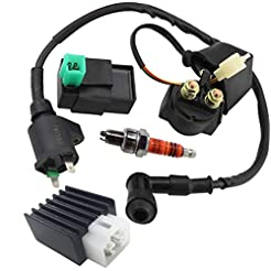 Ignition Coil Solenoid Relay Voltage Reg...