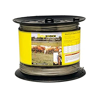Parker Mccrory Mfg Company 370 12g 1312 Ft. Bayshock Aluminum Electric Fence Wire