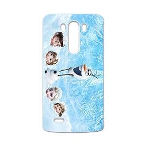 Frozen Princess Elsa Anna Kristoff Olaf Hans Cell Phone Case for LG G3