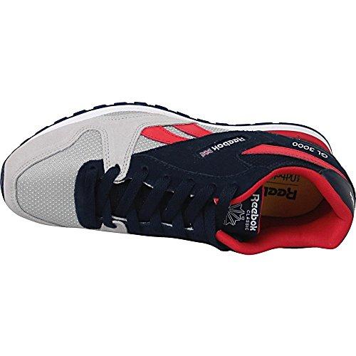 Reebok Bd2436, Zapatillas de Trail Running para Niños Azul (Collegiate Navy / Skull Grey / Primal Red / Wh)
