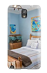 New Arrival Case Cover With LrLqkpM8120gWnhb Design For Galaxy Note 3- Blue Kid8217s Room With Bed Fish Tank 038 Airplane Light