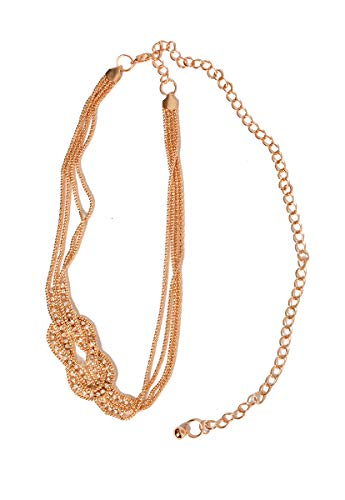 LOB Cinto Cintura Oro Cinturon para Mujer Oro Talla Talla Única