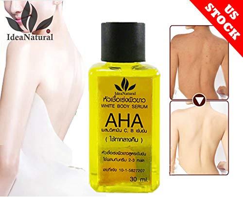 AHA Vitamin C,Vitamin c serum,Fast Whitening Body Intensive Serum 30ml by ShopIdea