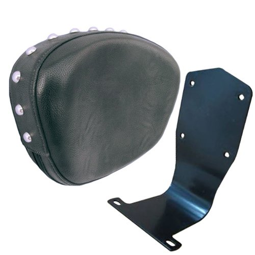 Honda VTX 1300 1800 Retro S Driver Backrest (Studded Contoured) (Honda Vtx Driver Backrest)