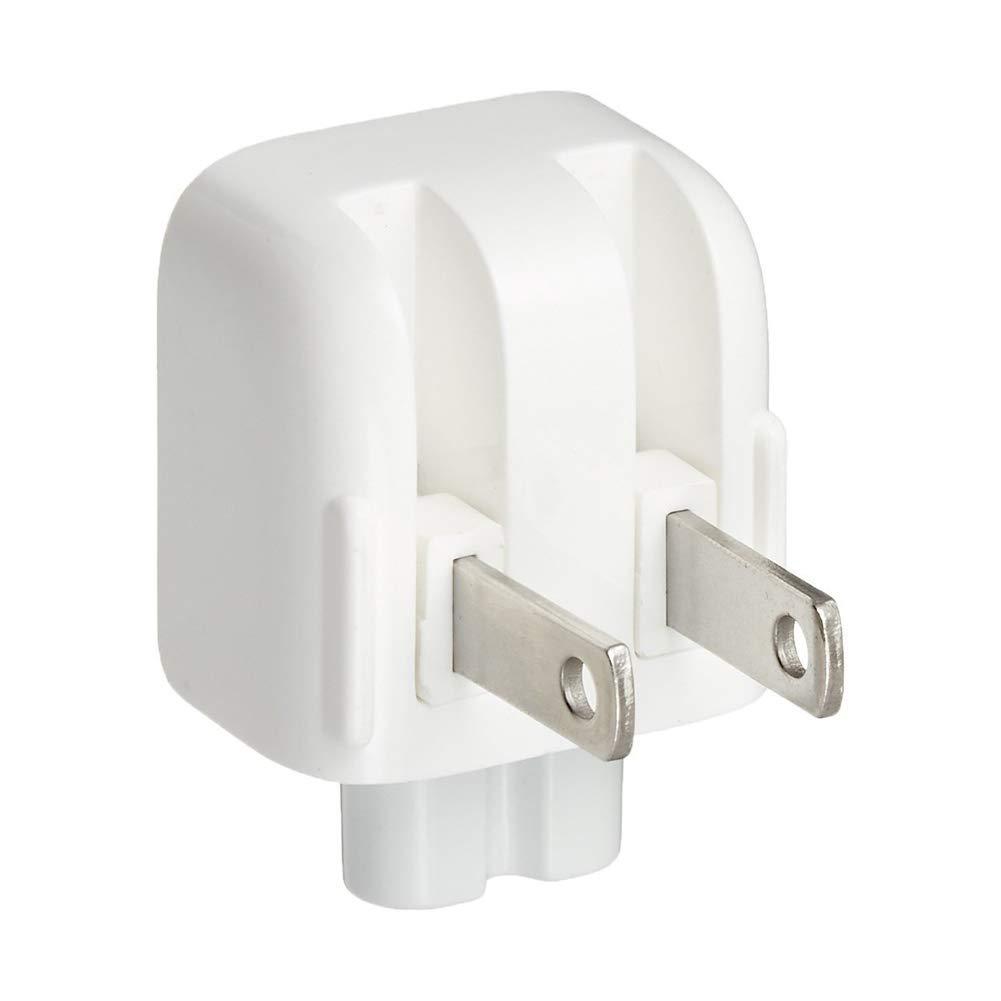 ouken Wall Adapter Mac Spina CA Duc Corsa della Spina khead Anatra Testa dell'adattatore di Carica degli Stati Uniti Spina Standard Bianco