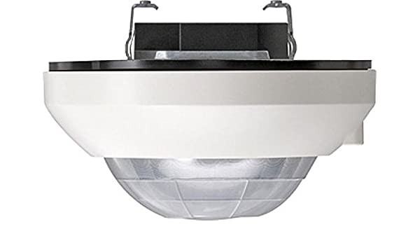 GIRA 210502 Sensor infrarrojo pasivo (PIR) Alámbrico Blanco detector de movimiento - Sensor de movimiento (Sensor infrarrojo pasivo (PIR), Alámbrico, 2 m, ...