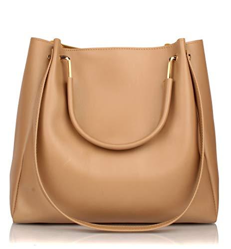 Mammon Women's Handbag (Beige)