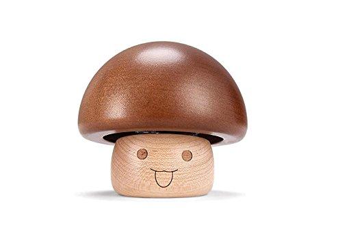 SunnyGod Perfect Decoration Music Box Simple Cute Mushroom Design Music Box Wooden Mini Music Box