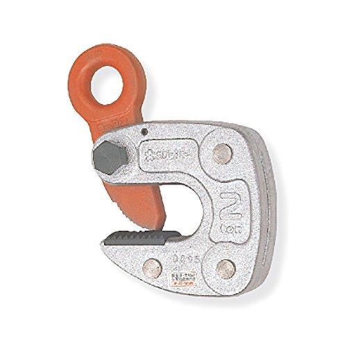 スーパーツール 形鋼クランプ HLC型 HLC2S 容量2t クランプ範囲3~22mm 軽量 H形、I形、T形、L形鋼等構造物専用横吊りクランプ コT【代不】 B06WPBC81Z