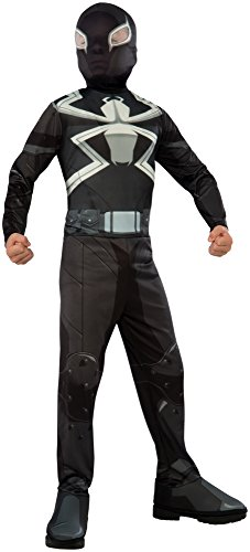 Rubie's Costume Spider-Man Ultimate Child Agent Venom Costume, Large (Super Villain Costumes For Men)
