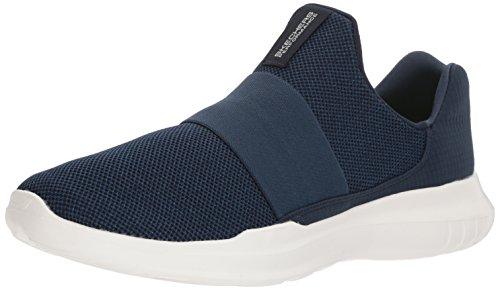 Skechers Menns Go Kjøre Mojo-mania Sneaker Navy / Hvit