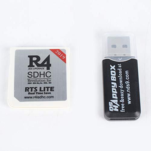 urjipstore Small Size Wide Compatible R4 SDHC Micro Secure Digital Memory  Card Adapter Suitable for DS 3DS 2Ds Ndsi Nds