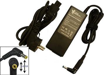 Cargador - Alimentador para TOSHIBA PA3378E-2ACA, 90 W, Adaptador de corriente para ordenador portátil TOSHIBA PA3378E-2ACA garantía 9 meses, entrega 48h: ...