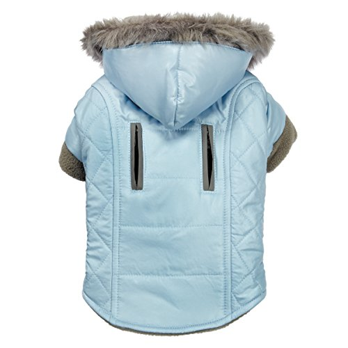 Zack & Zoey ThermaPet Polar Explorer Quilted Thermal Parkas—Innovative Water-Resistant Coats for Dogs Designed to Keep Pets Warm Using Their Own Body Heat, Not Electricity