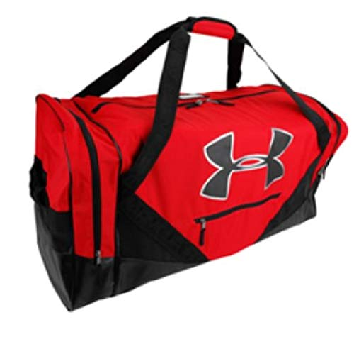 Under Armour Deluxe Cargo Hockey Bag (Scarlet Red)