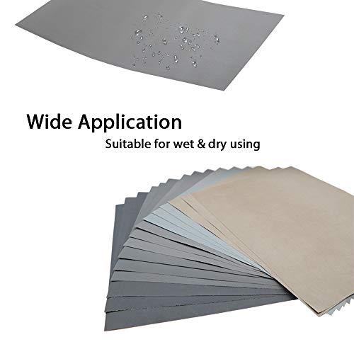 Wet Sandpaper P2000 Smirdex 10pcs Wet Sandpaper