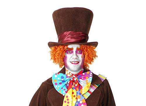 Charades Men's Mad Hatter Costume, As Shown,