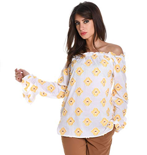 25403004L Multicolore Coton XACUS Blouse Femme FC5qgq