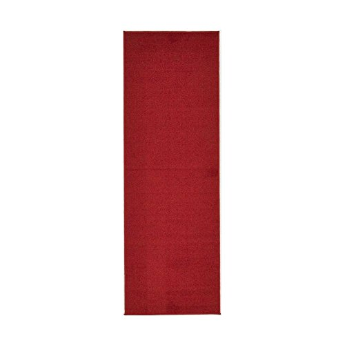 SJ&P Red Carpet Aisle Runner - 4' x 20' Indoor Outdoor Carpet (Offer different size)