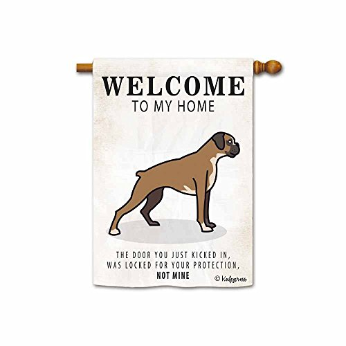 Be As You Are Boxers - Kafepross Welcome to My Home Boxer House Flag the Door You just Kicked in, was Locked for Your Protection, Not Mine 28