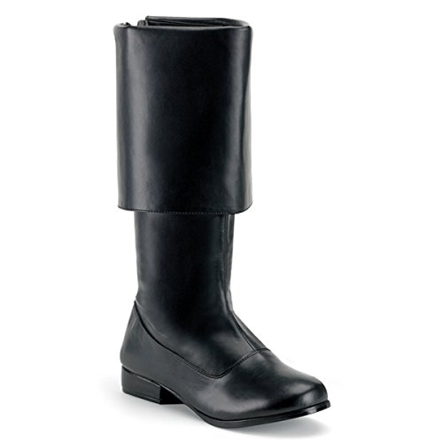 Cavalier Boots (Ellie Shoes Sparrow (Black) Adult Boots, Large (12-13))