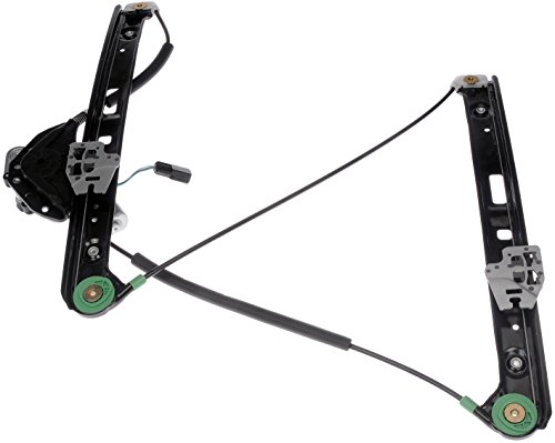 Dorman Front Left Window - Dorman 741-485 Front Passenger Side Power Window Regulator and Motor Assembly for Select BMW Models