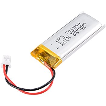 DC 3.7V 2000mAh 654065 Lipo Battery Rechargeable 2P PH 2.0mm Pitch Lithium Polymer ion Battery Pack with JST Connector