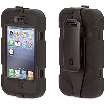 Griffin GFN01902 iPhone 4 Survivor and Beltclip 1 Pack - Case - Retail Packaging - Black