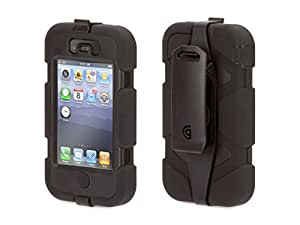 Griffin GFN01902 iPhone 4 Survivor and Beltclip 1 Pack - Case - Retail Packaging - Black