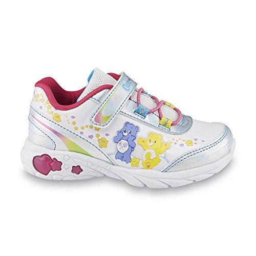 Care Bears Sneakers Mädchen Glücksbärchen Turnschuhe Girl Blink Licht Schuhe US11 = EU 28,5