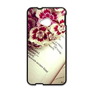 Flower Book Fashion Personalized Phone Case For HTC M7