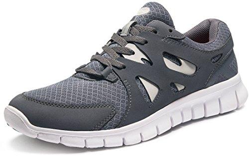 (Tesla TF-X700-DGR_Men 8.5 D(M) Men's Lightweight Sports X Series Running Shoe X700 (True to Size))