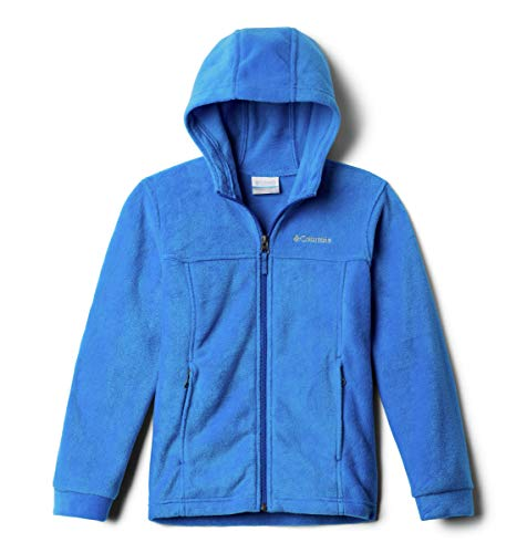 Boys Puff Jacket - Columbia Boys' Big Steens II Fleece Hoodie, Super Blue, Small