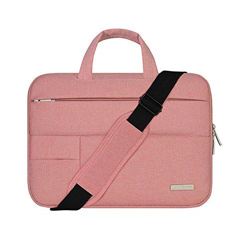 New Laptop Bag for macbook pro air 13 case 11 13 15 inch Laptop Shoulder Bag for Asus Acer Dell HP laptop sleeve (13 inch, - Br Tory