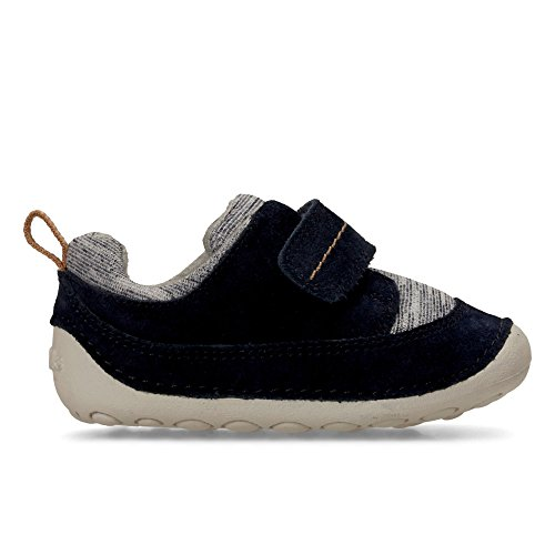 Clarks Tiny Move, Chaussures de ville à lacets pour femme Bleu bleu