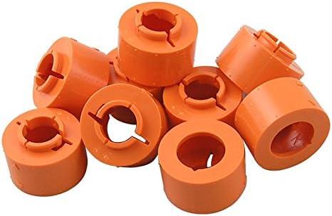 Straight 40 Pieces icengineworks 1750 Series Modeling Block Add-On Set 1-3//4 OD Orange