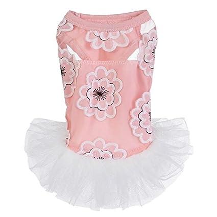 Buy Pinkdose Qp Xl High Quality Beautiful Pet Skirt Flower