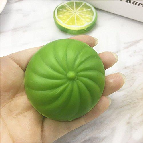 coconut Squishy lent Rising balle jouets pour enfants Ecraser Anti Stress Jouet anti-stress Petit pain Prank Geek Relief Gadget